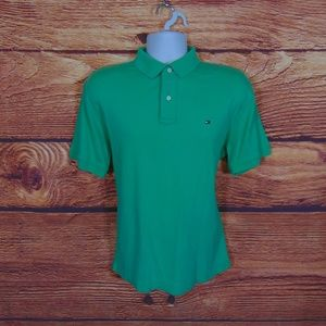 Tommy Hilfiger mens polo golf shirt size large 793
